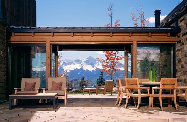 新古典风格客厅3层别墅舒适门厅灯池装修图片