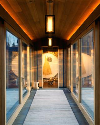 新古典风格客厅200平米别墅舒适门厅过道吊顶设计图纸