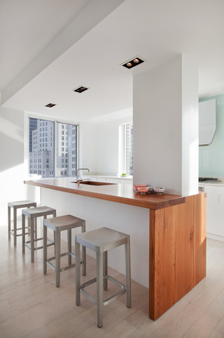 现代简约风格卫生间单身公寓阳台实用吊顶餐厅设计图纸
