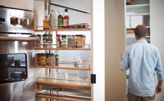 现代简约风格卧室2014年别墅阳台实用厨房收纳架效果图