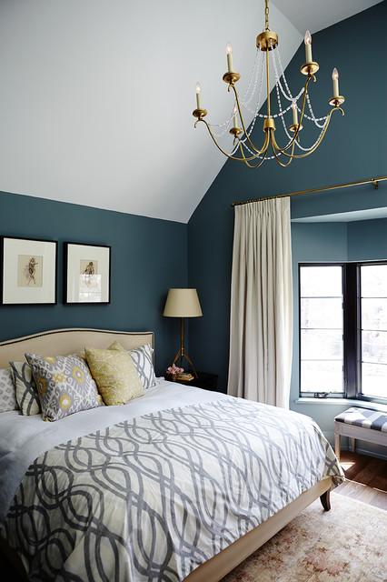 欧式风格卧室一层半别墅浪漫卧室5平米卧室设计图纸