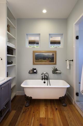美式乡村风格300平别墅实用客厅浴缸龙头效果图