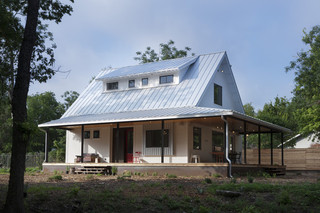 美式乡村风格卧室三层别墅实用客厅花园洋房效果图