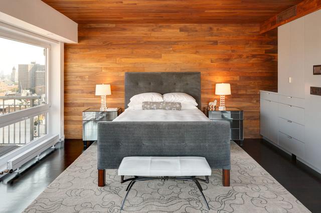 现代简约风格客厅小型公寓简单实用8平米卧室装修图片