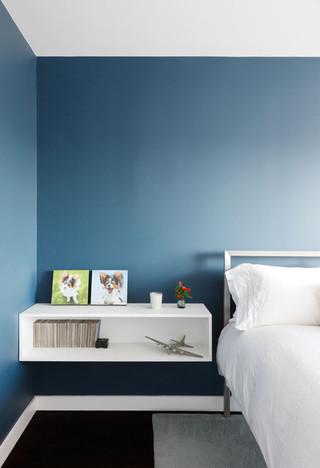 现代简约风格餐厅老年公寓阳台实用床头柜效果图