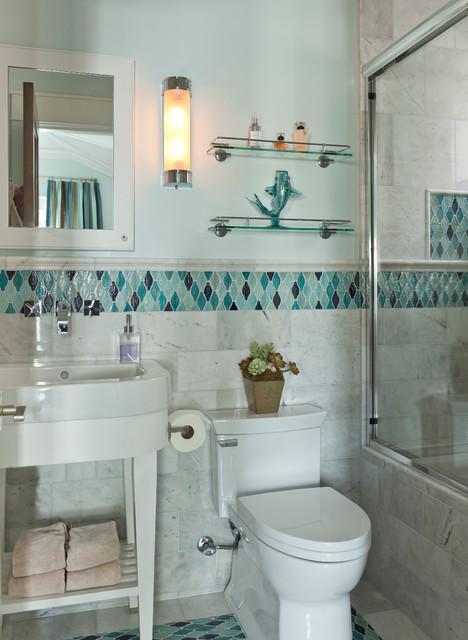 现代简约风格卧室一层别墅及小清新智能马桶盖图片