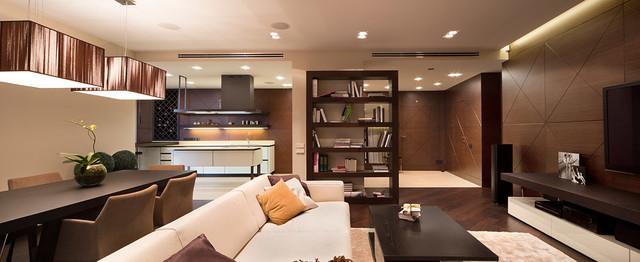 现代简约风格厨房2013别墅及现代简洁门厅过道吊顶设计