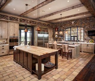 美式乡村风格卧室三层半别墅实用卧室家庭吧台隔断设计图纸