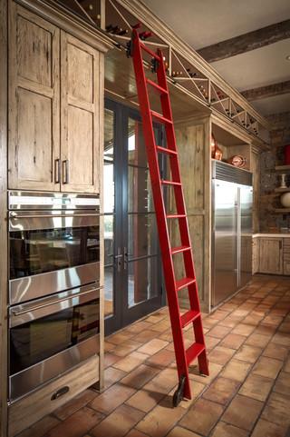 美式乡村风格卧室三层半别墅实用卧室收纳柜效果图