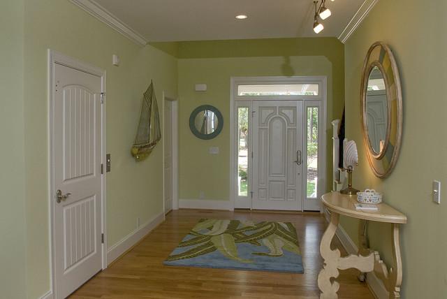 现代简约风格客厅一层别墅实用卧室进门过道吊顶设计图图片
