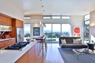 现代简约风格厨房300平别墅大气橱柜效果图
