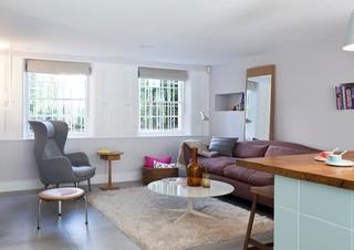 现代简约风格餐厅酒店公寓大气懒人沙发效果图