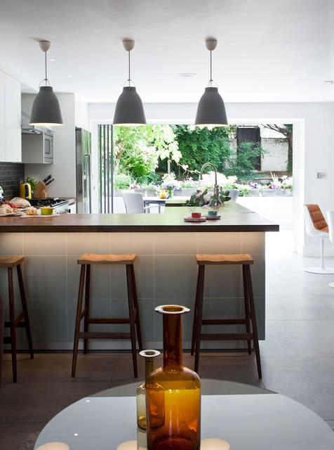 现代简约风格精装公寓大气餐桌效果图