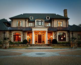 房间欧式风格三层连体别墅奢华家具阳台窗户效果图