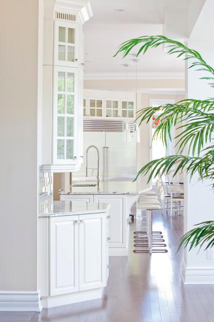 现代简约风格卧室3层别墅欧式奢华橱柜定做