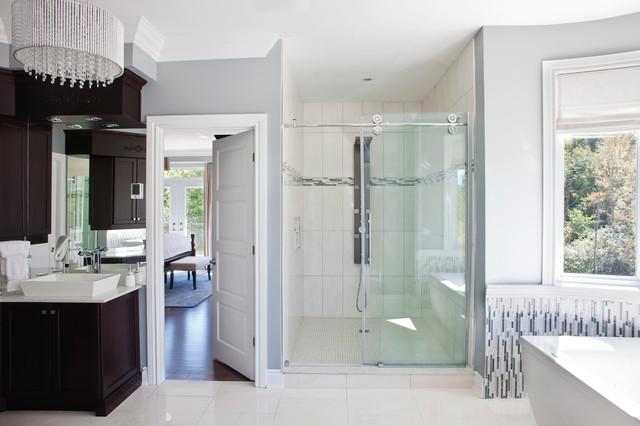 现代简约风格卫生间一层半小别墅欧式奢华品牌淋浴房定做