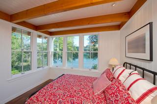 欧式风格家具2层别墅浪漫婚房布置儿童房上下床图片
