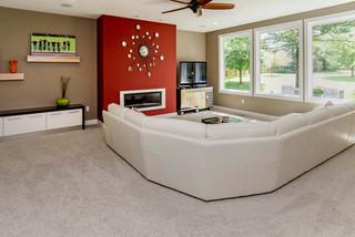 现代简约风格厨房2013别墅及阳台实用2012客厅装潢