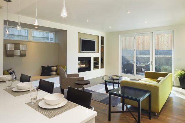 现代简约风格厨房三层别墅及时尚2014客厅窗帘设计