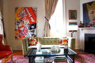 混搭风格2013别墅及乐活客厅茶几地毯效果图