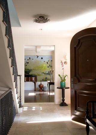 现代简约风格客厅3层别墅乐活欧式门厅装修效果图