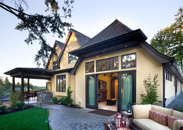 现代简约风格卫生间3层别墅阳台实用露台花园改造