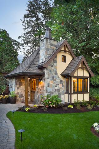 现代简约风格厨房200平米别墅实用客厅入户花园鞋柜设计