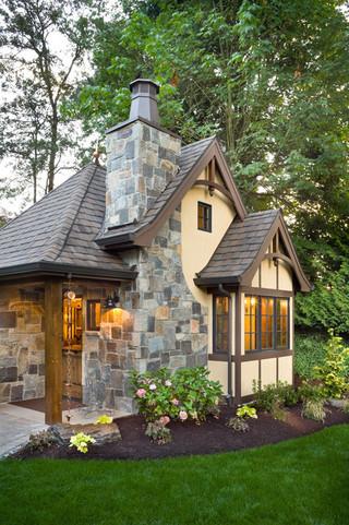 现代简约风格厨房300平别墅实用卧室花园阳台设计