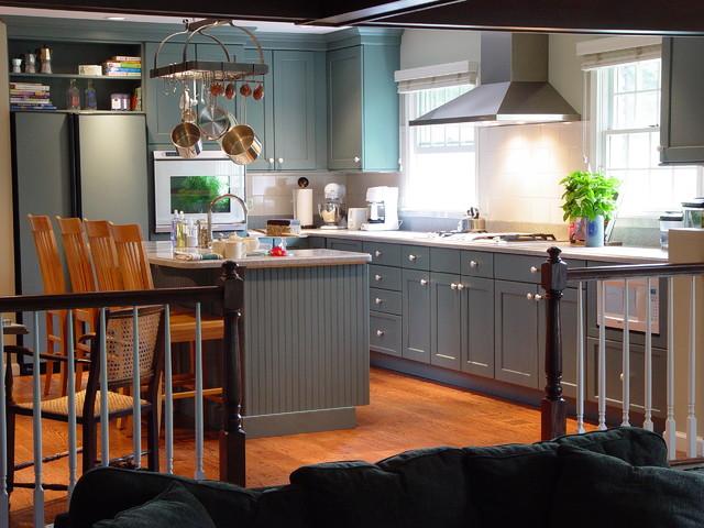 现代简约风格卫生间三层平顶别墅简单实用2014家装厨房装修图片