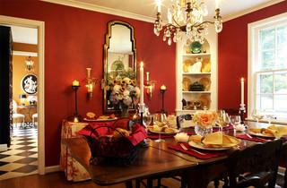 现代简约风格餐厅2013别墅及温馨装饰客厅和餐厅的效果图