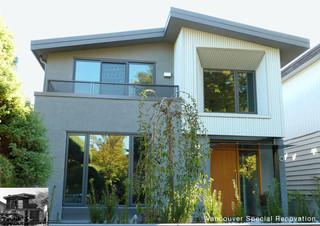 现代简约风格卫生间三层独栋别墅舒适室内窗户效果图
