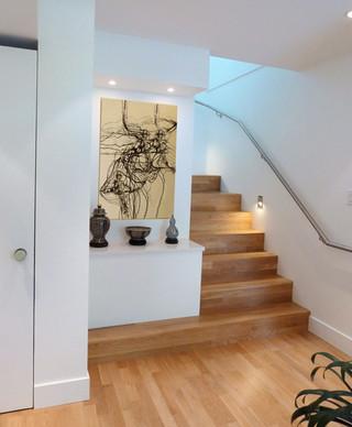 现代简约风格厨房2013别墅及舒适复式楼梯装修效果图