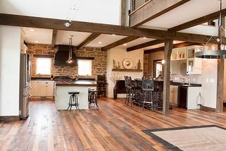美式乡村风格卧室一层别墅及古典欧式室内地板效果图