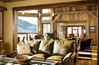 混搭风格客厅三层别墅及大气宜家沙发床图片