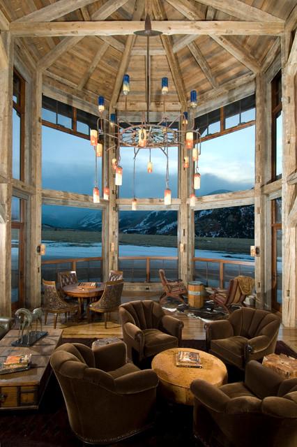 混搭风格一层半别墅大气底楼阳光房效果图高清图片