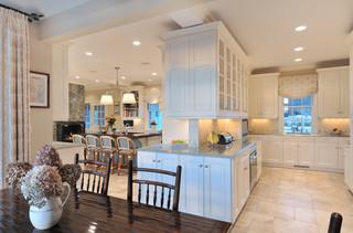 欧式风格家具简洁2012家装厨房装修效果图