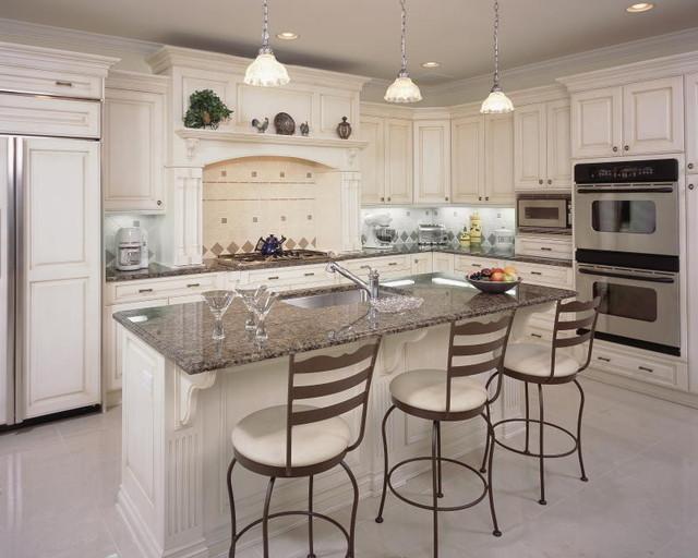现代简约风格厨房现代简洁开放式厨房餐厅设计图