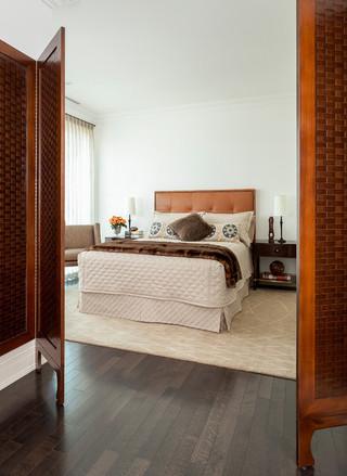 欧式风格家具老年公寓温馨10平米卧室设计图
