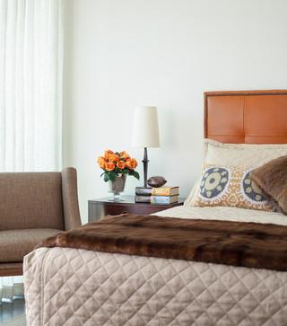 现代欧式风格单身公寓厨房大方简洁客厅效果图