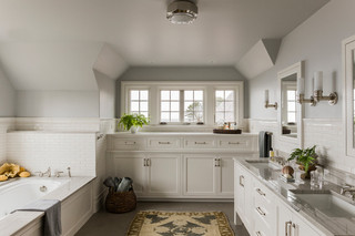欧式风格家具2层别墅简洁1m卫生间效果图