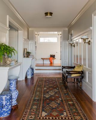 欧式风格家具一层半小别墅现代简洁办公室过道设计图纸