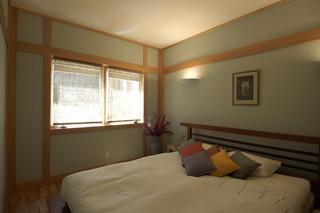 日式风格客厅单身公寓简洁卧室6平米卧室装潢