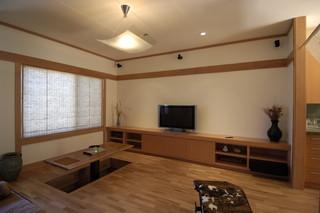 日式风格客厅酒店式公寓现代简洁16平米客厅装潢