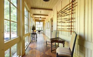 现代简约风格卧室300平别墅客厅简洁门厅过道装修图片