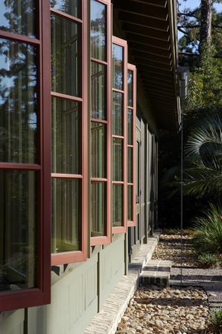 欧式风格客厅2层别墅唯美客厅窗户效果图