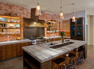 现代简约风格卧室老年公寓大气圆形餐桌图片