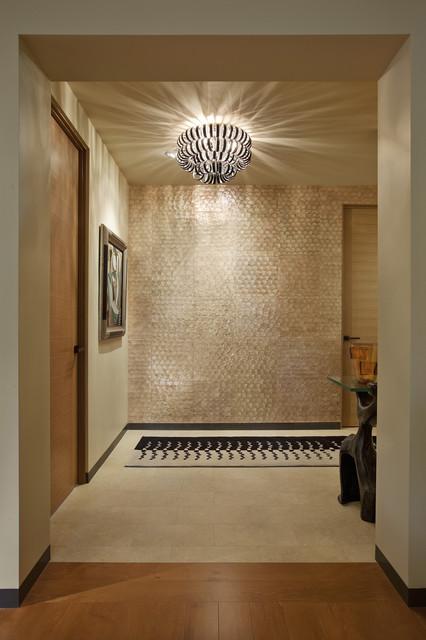 现代简约风格厨房小户型公寓艺术飞利浦吸顶灯效果图