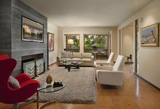 现代简约风格餐厅公寓艺术懒人沙发效果图