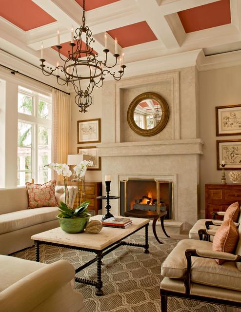 现代简约风格餐厅三层别墅及艺术家具根雕茶几效果图