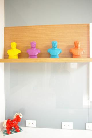 现代简约风格餐厅精装公寓温馨装饰橱柜效果图
